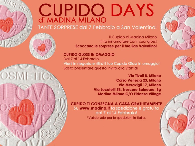 Madina Milano:Cupido Days