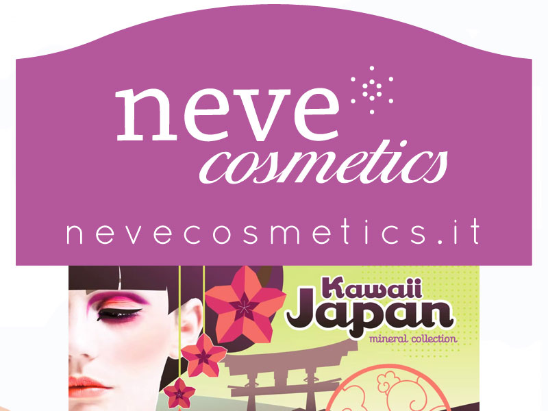Anteprima:Kawaii Japan collection By NeveCosmetics