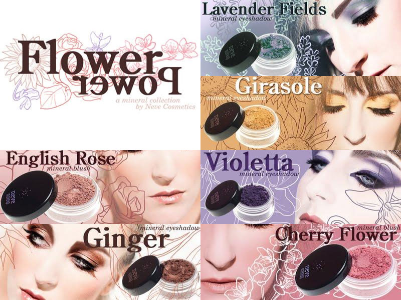 "Preview: ""Flower Power"" Neve Cosmetics"