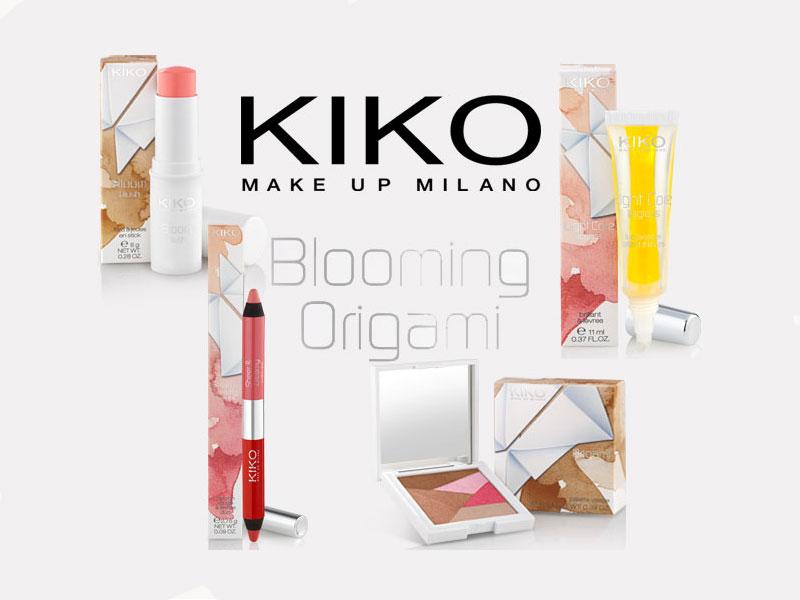 Preview: Collezione BLOOMING ORIGAMI KIKO