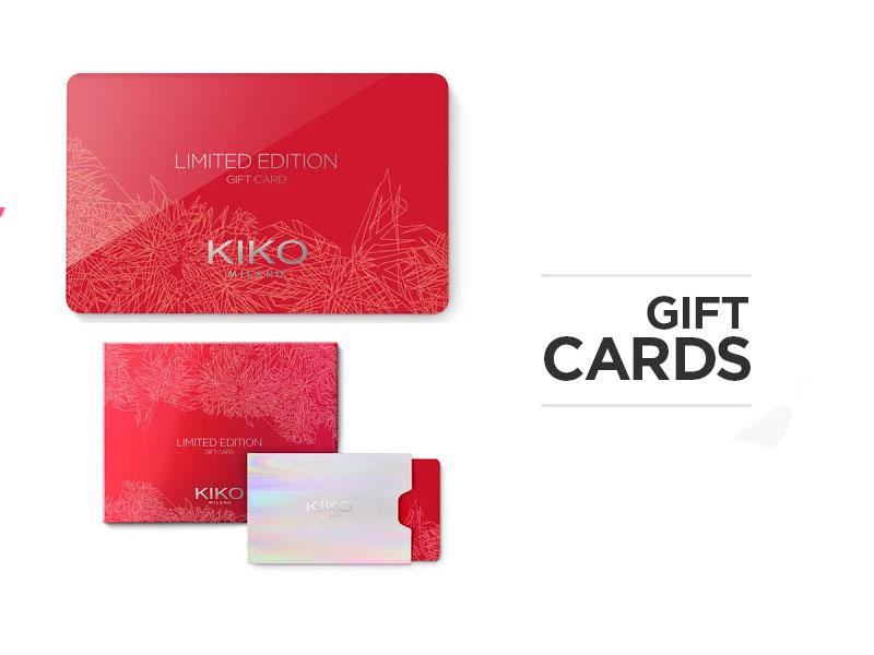 Novita' KIKO and… Una GiftCard da 50 euro per voi!