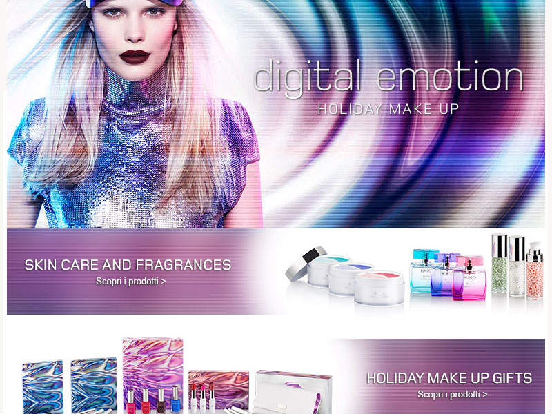 Sneak Peak: L.E. Digital Emotion – KIKO Cosmetics