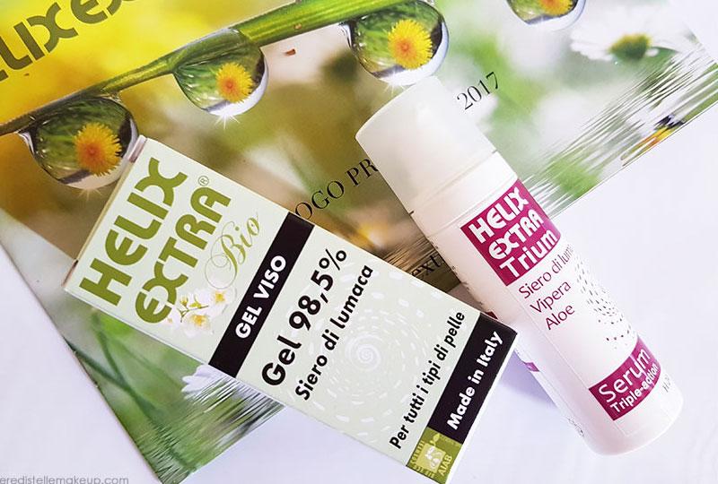 PREVIEW: Helix Extra cosmesi naturale alla bava di lumaca