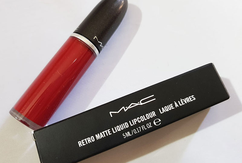 REVIEW: Retro Matte Liquid Lipcolour in Dance With Me – M.A.C Cosmetics