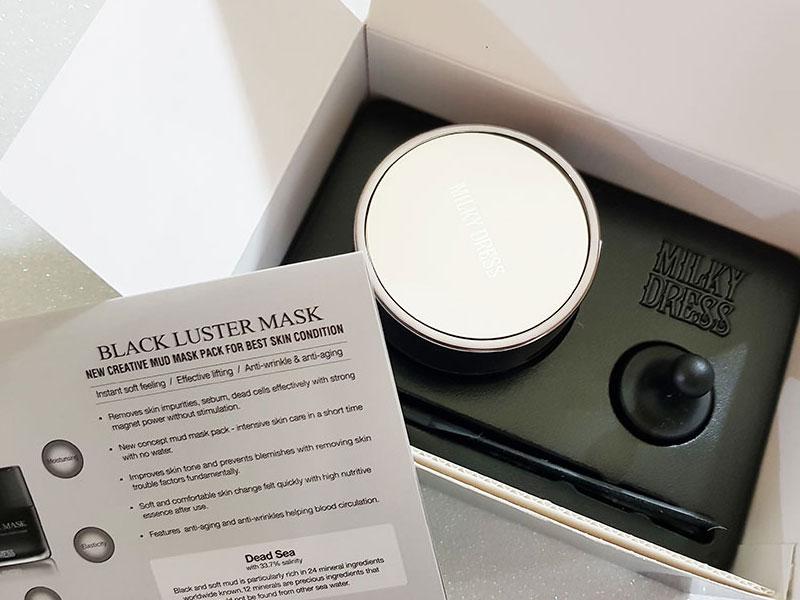 KBEAUTY: Black Luster Mask Milky Dress, caratteristiche, recensione
