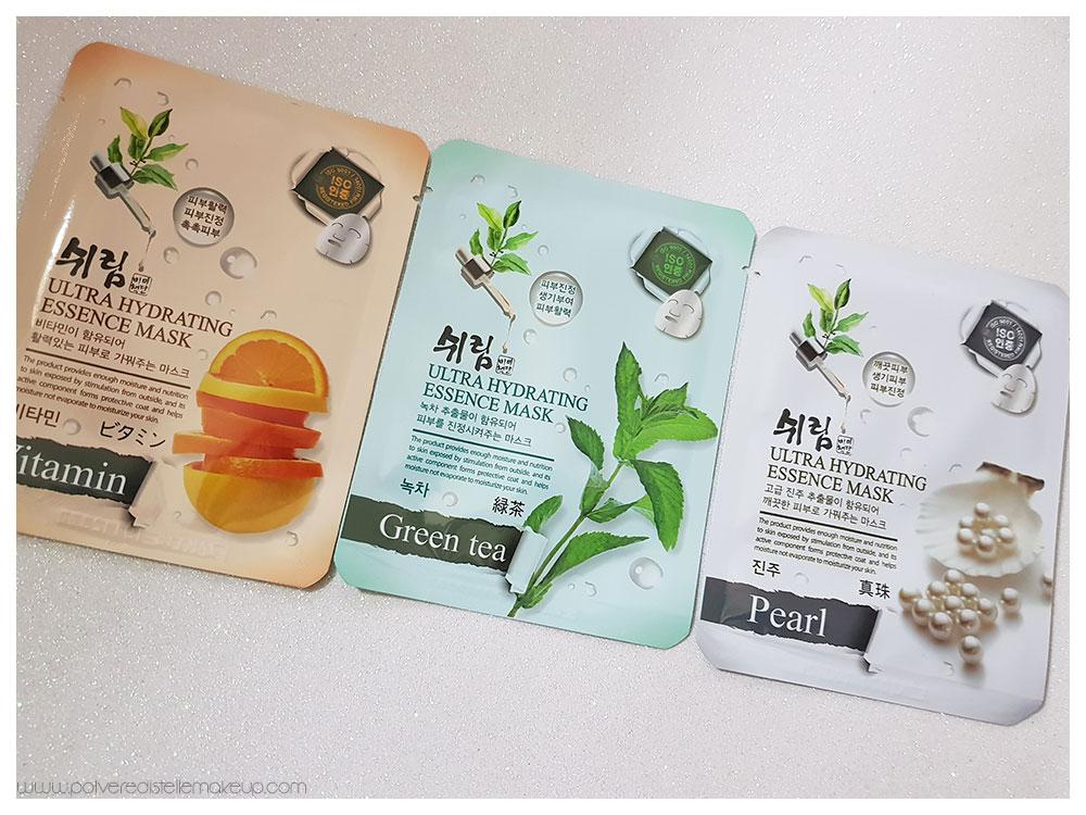 Maschere viso coreane in tessuto da Beautytude Boutique: caratteristiche, proprietà, quale scegliere.