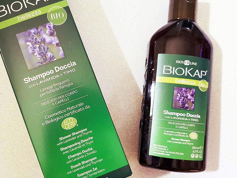 BIOKAP Shampoo Doccia Bio Lavanda e Timo Biosline | recensione, opinioni, dove comprare