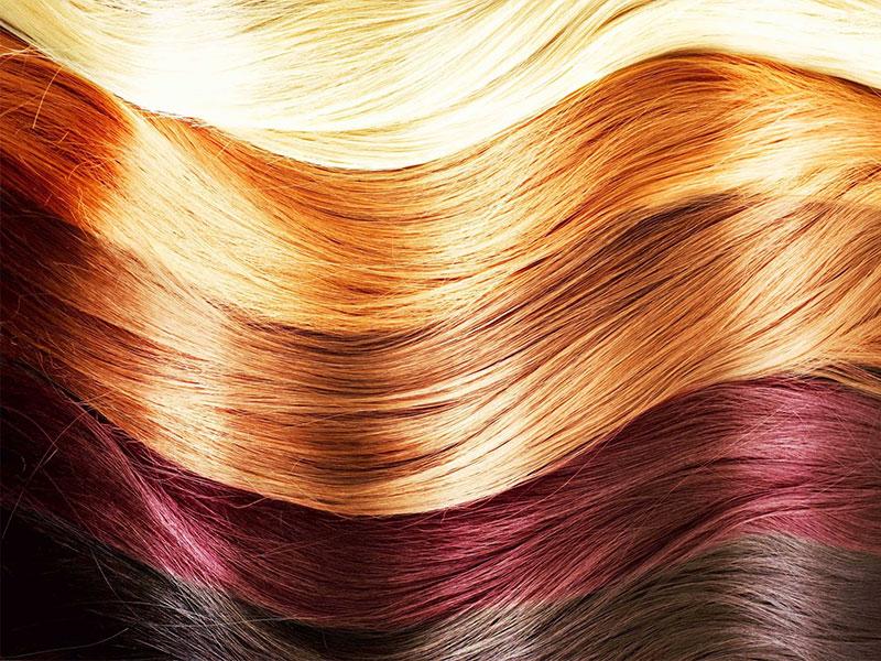 Colorazione diretta capelli