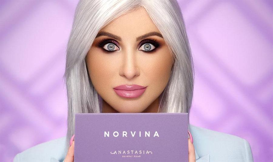 Anastasia X Norvina palette occhi