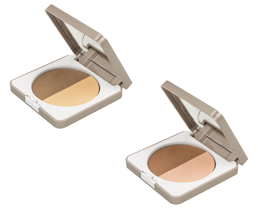 Palette viso Duo Contouring Bionike