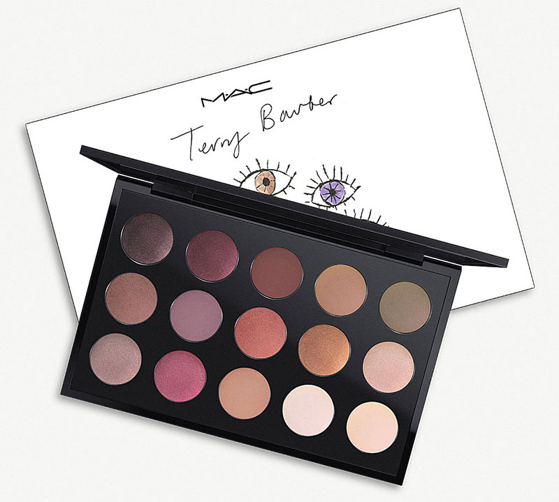 Eyeshadow Palette Mac X Terry Barber