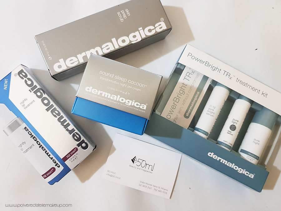 Prodotti skincare viso Dermatologica