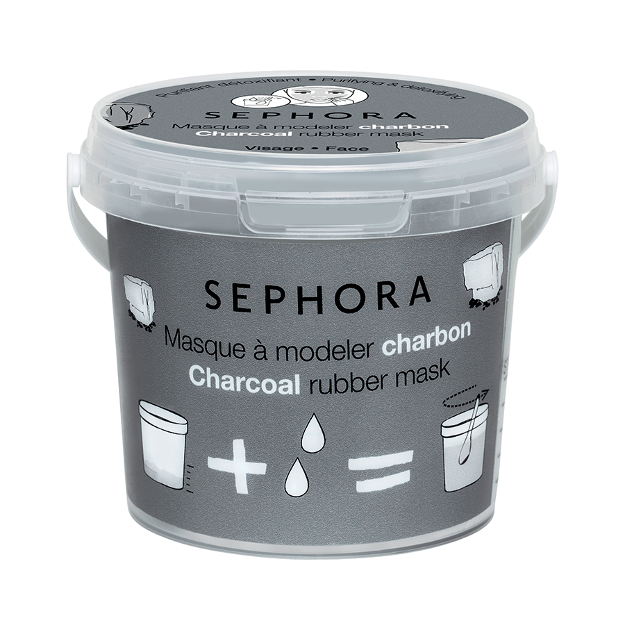 Sephora Charcoal Rubber Mask