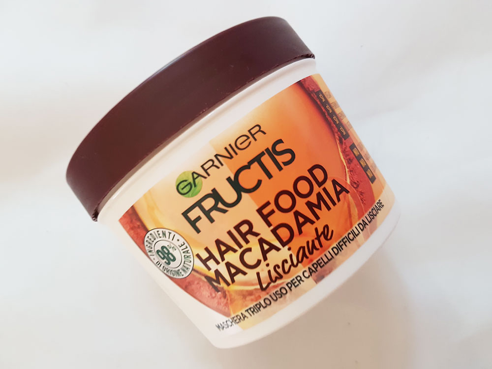Garnier Hair Food Maschera macadamia