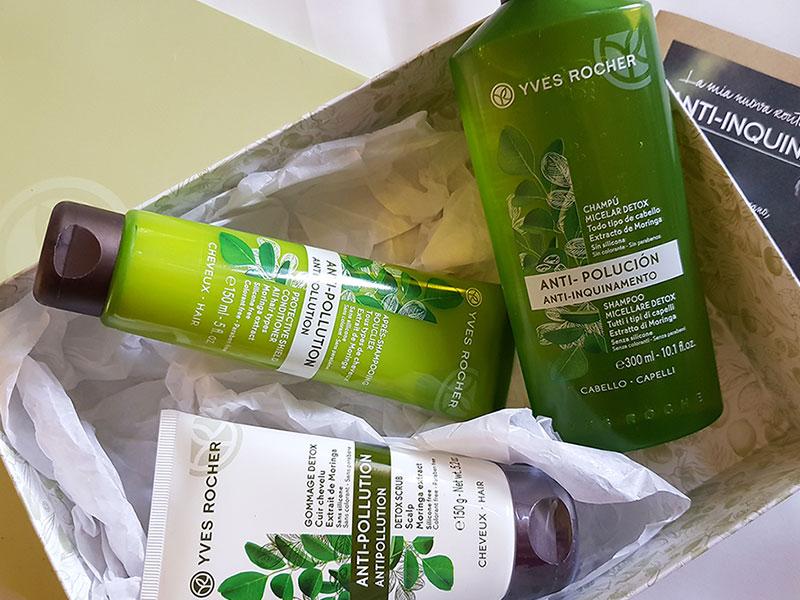 Yves Rocher Anti-inquinamento | Haircare detox, recensione, opinioni