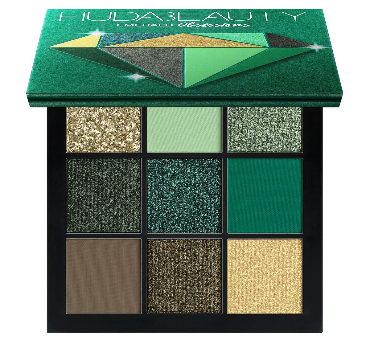 Huda Beauty Palette Precious Stones Obsessions Emerald