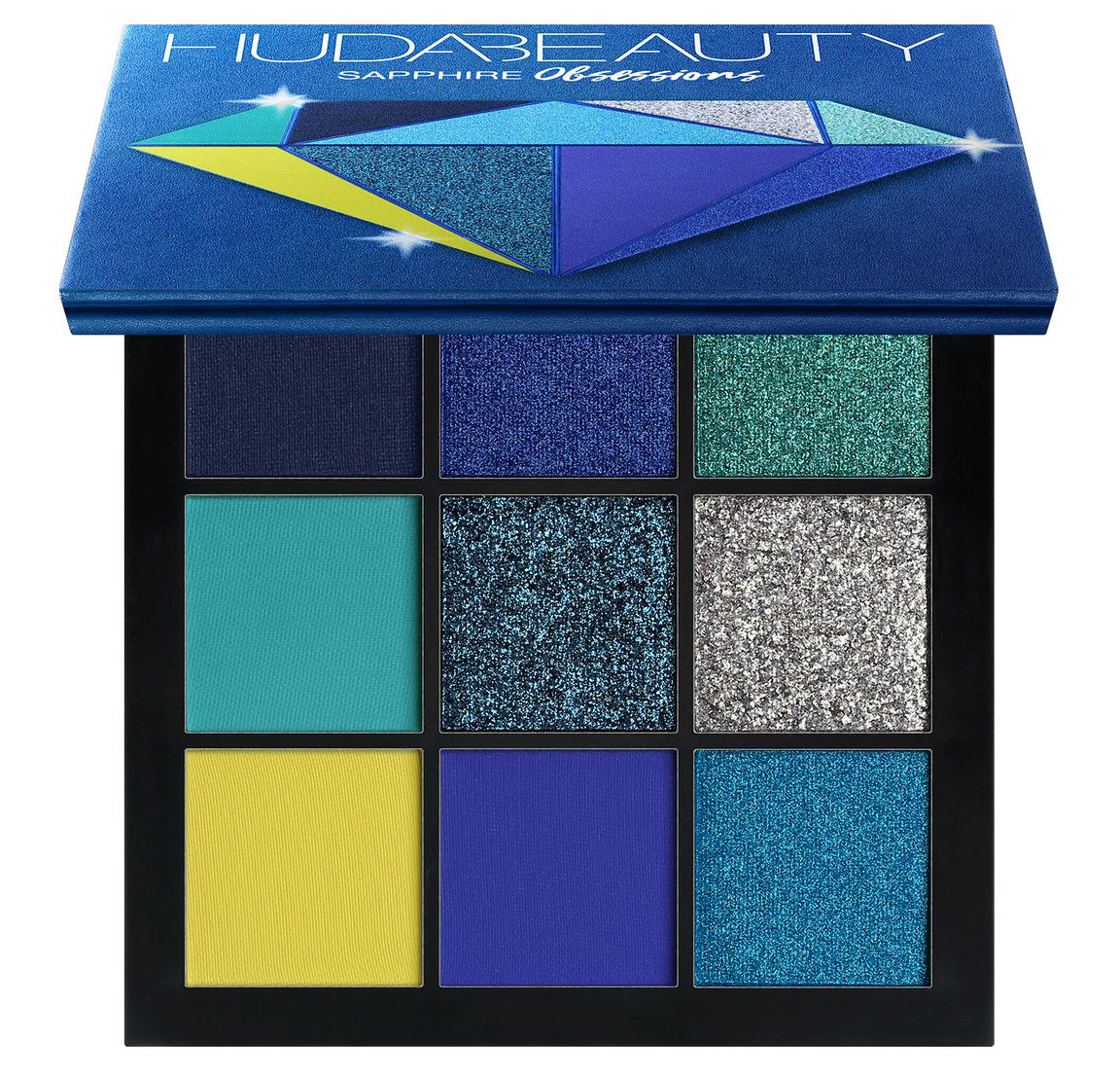 Huda Beauty Palette Precious Stones Obsessions Sapphire