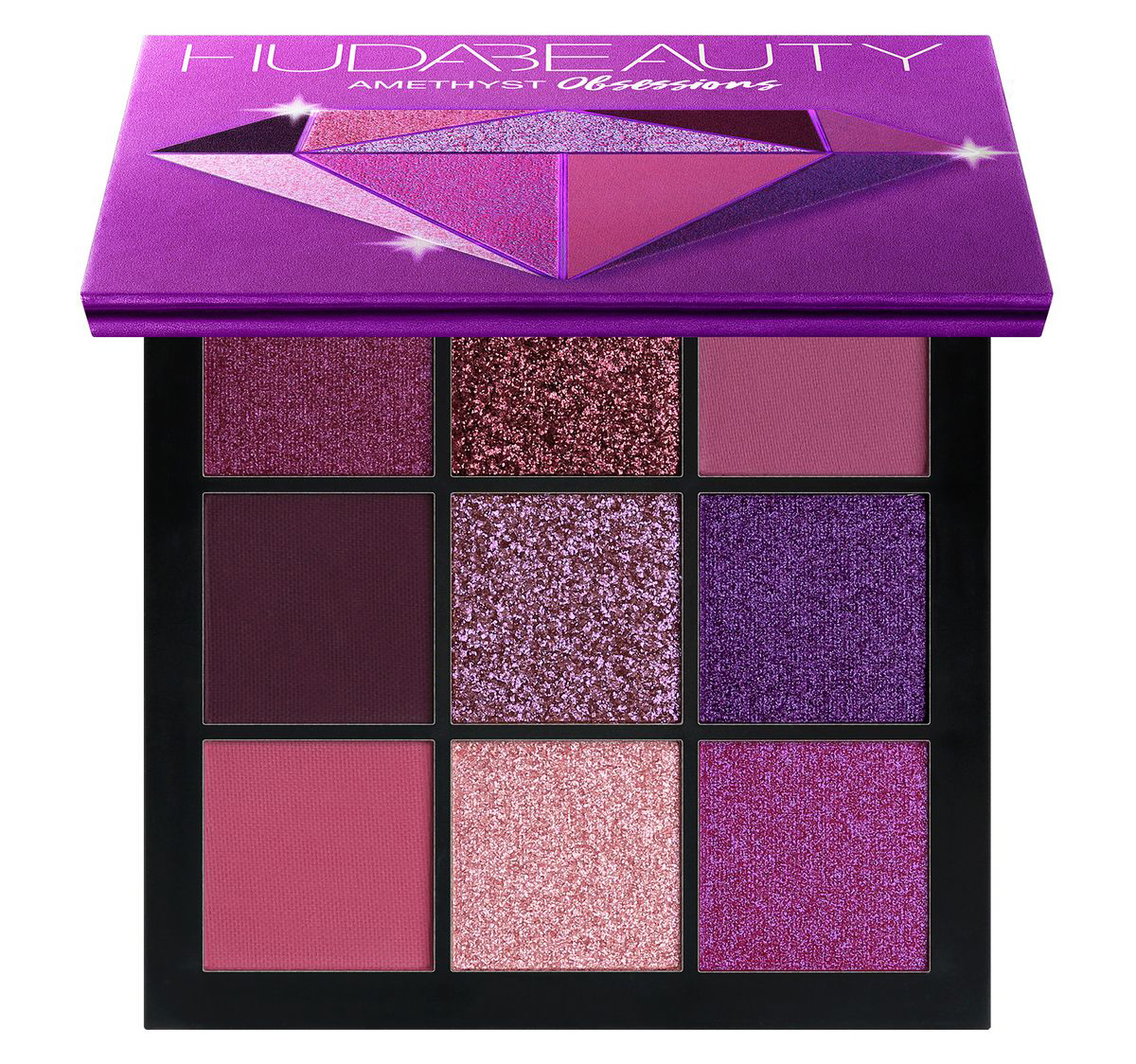 Huda Beauty Palette Precious Stones Obsessions Amethyst