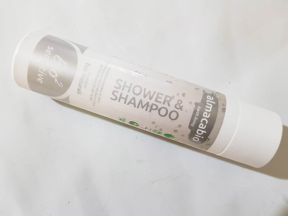 Almacabio Shower & Shampoo Bio2 Sensitive
