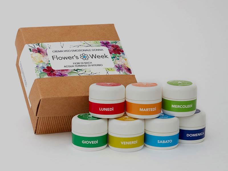 Flower's Week creme emozionali