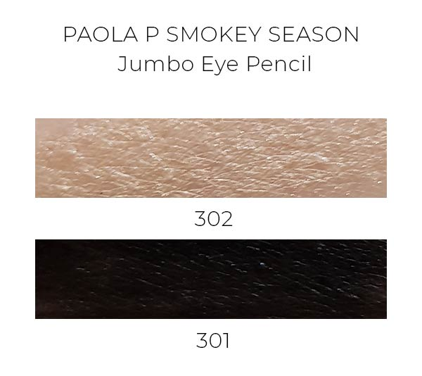 PaolaP Smokey Season Jumbo Eyepencil swatches