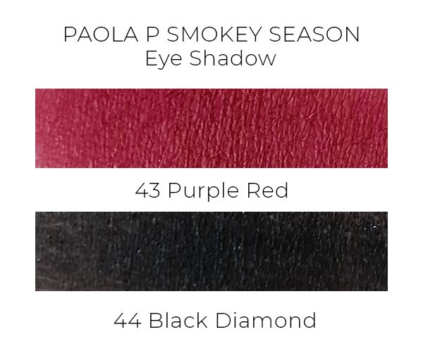 PaolaP Smokey Season ombretti swatches