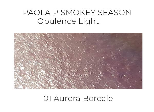 PaolaP Smokey Season Opulence Light swatches