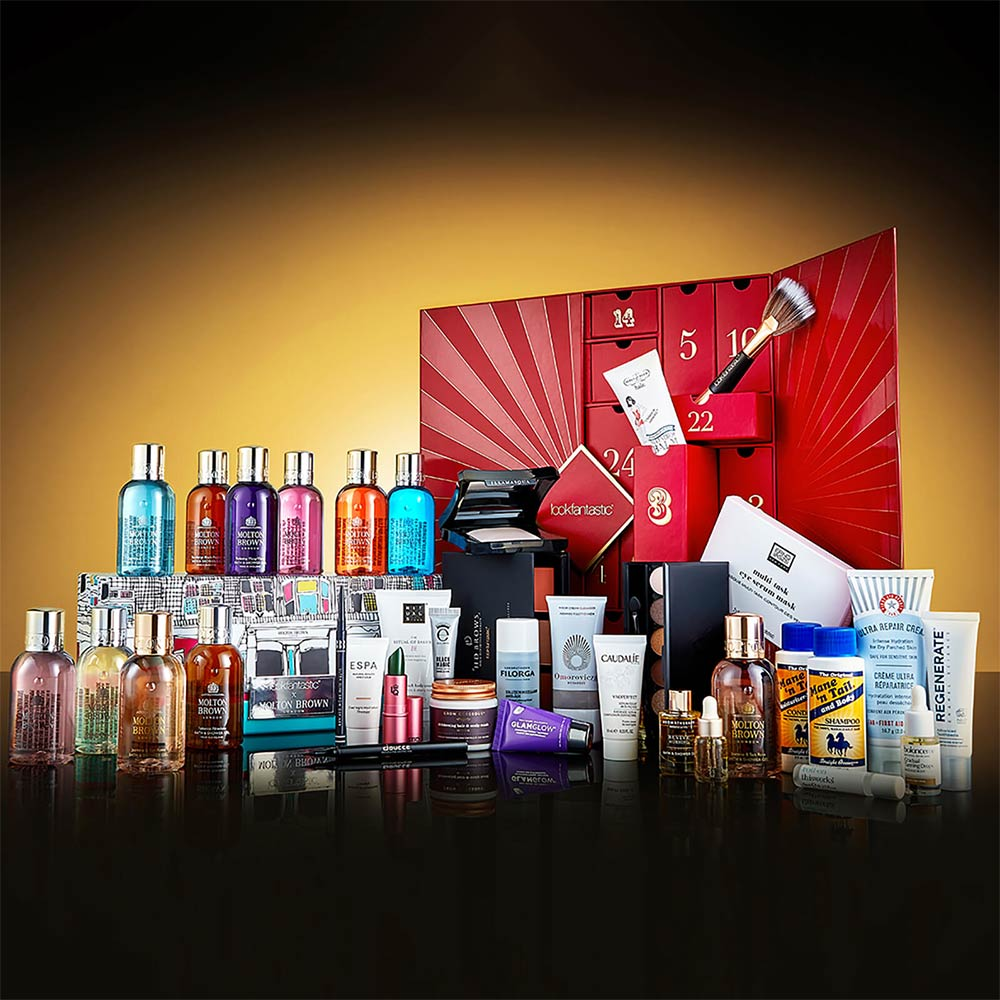 Calendario dell'Avvento + Molton Brown box Lookfantastic