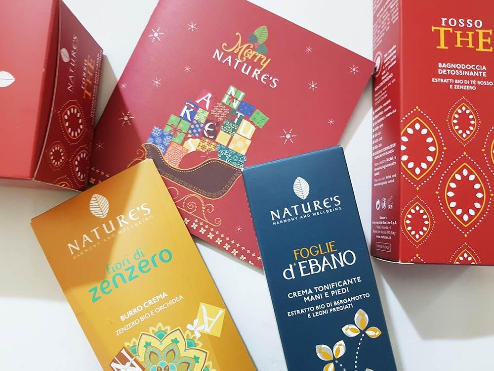 Merry Nature's prodotti Natale 2018