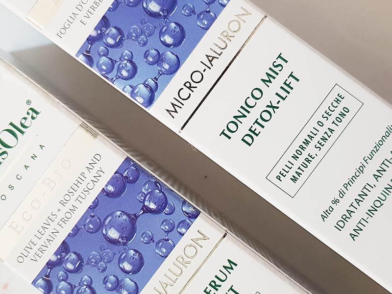 Domus Olea Toscana Linea Micro-Ialuron Detox Lift