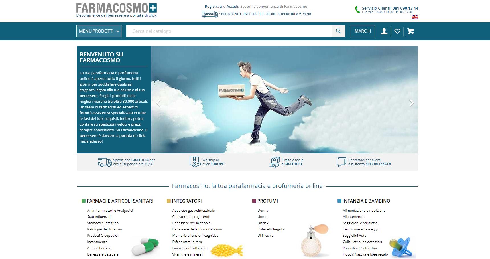 Farmacosmo parafarmacia online