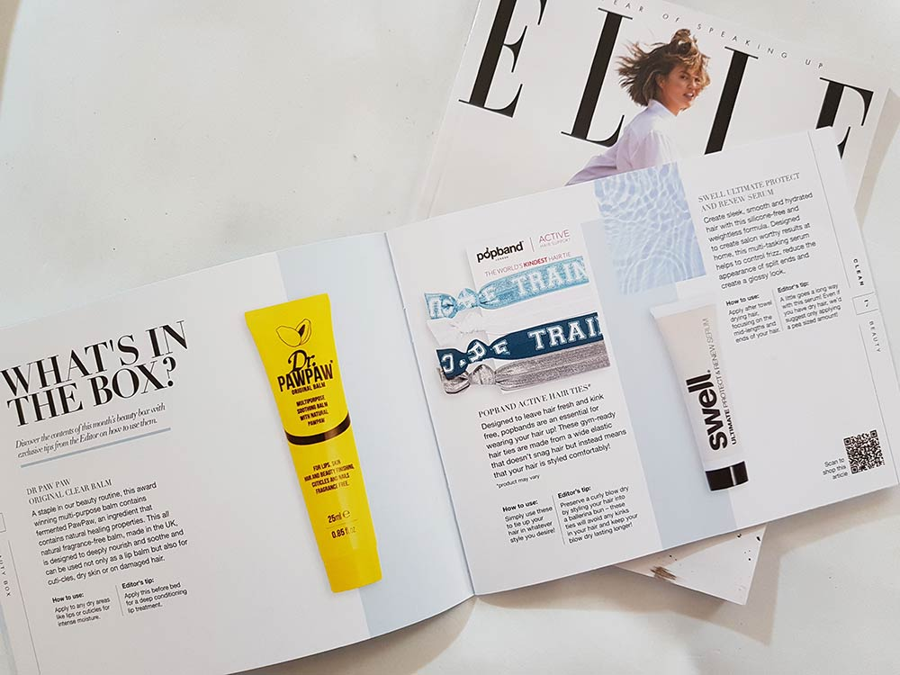 Lookfantastic Beauty Box Gennaio 2019 brochure