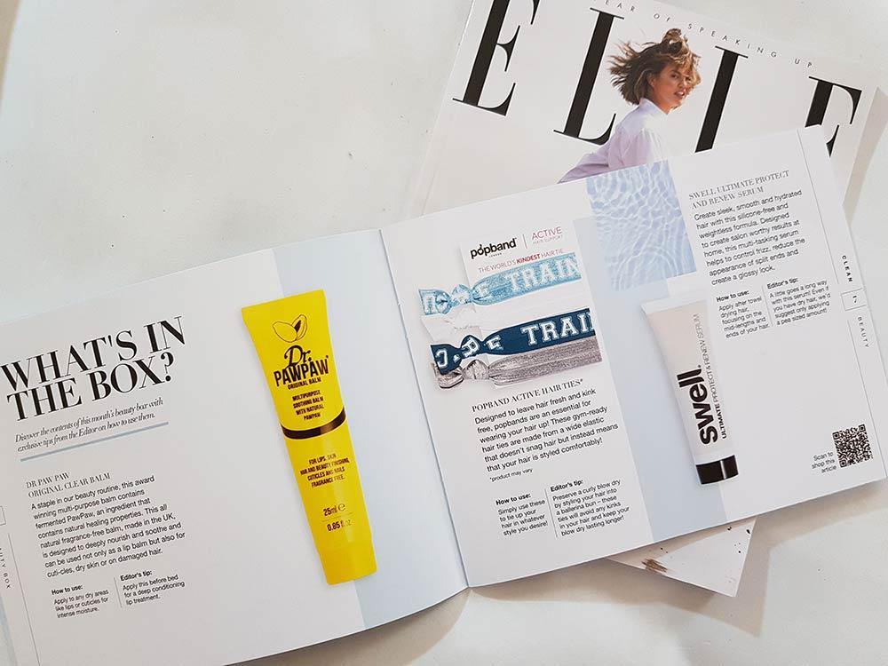 Lookfantastic Beauty Box Gennaio 2019 brochure