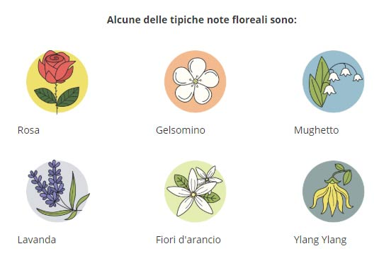 Famiglia olfattiva floreale
