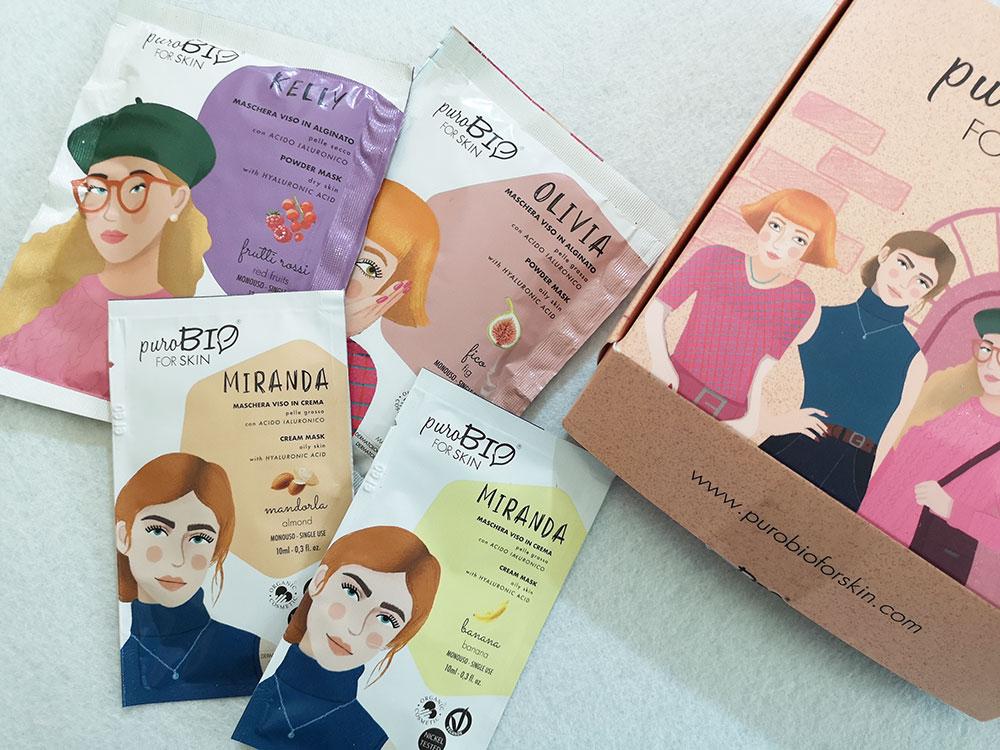 Maschere viso For Skin PuroBIO