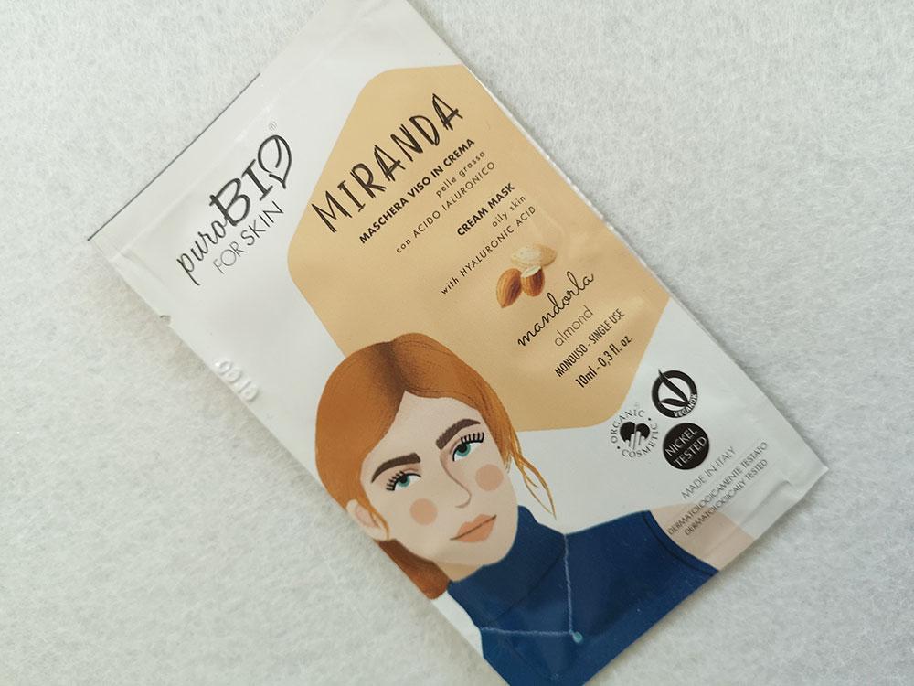 Miranda Maschera in crema PuroBIO