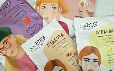 Maschere viso PuroBIO For Skin | Recensione, opinioni