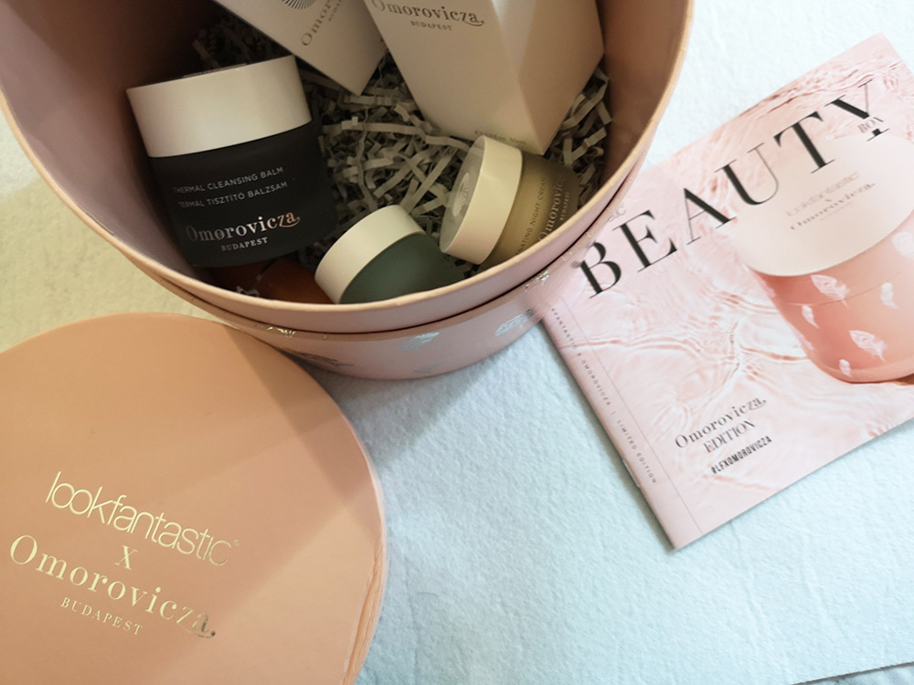 Beauty Box Lookfantastic X Omorovicza prodotti