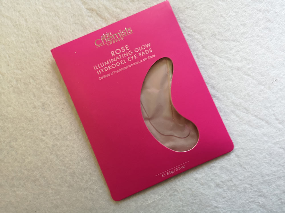 skinChemists Rose Illuminating Glow Hydrogel Eye Pads