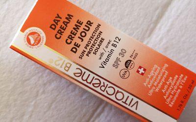 Vitacreme B12 Day Cream SPF 30 | Recensione, opinioni