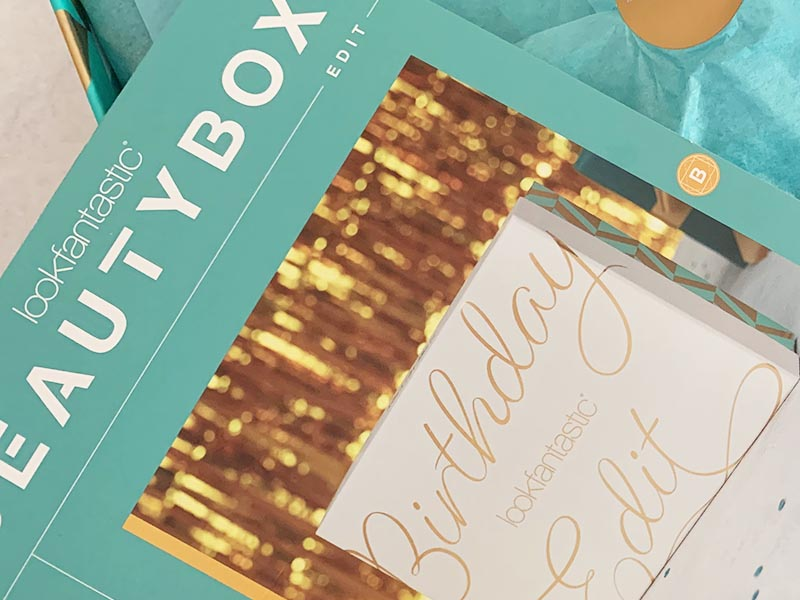 Lookfantastic Beauty Box | Birthday Edition
