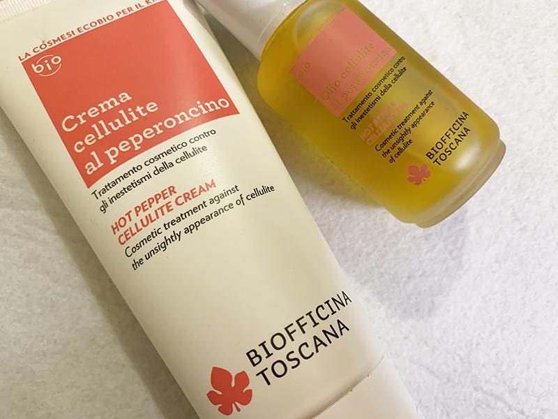 Biofficina Toscana Crema e olio cellulite al peperoncino | Recensione, opinioni