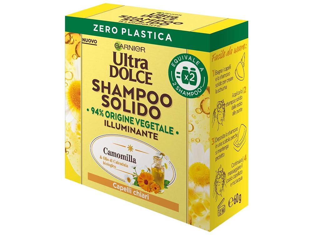 Shampoo solido illuminante Ultra Dolce Garnier