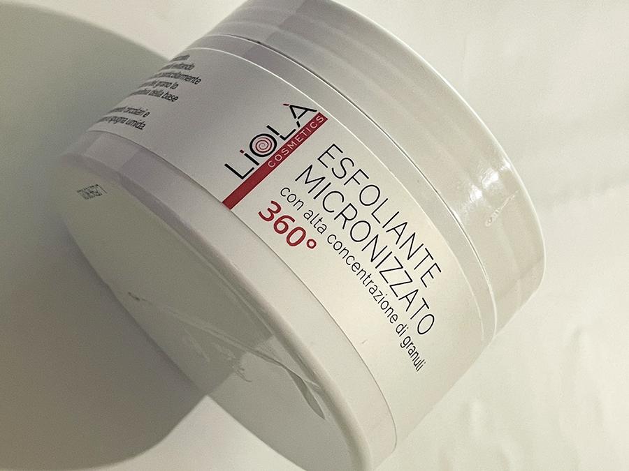 Liolà Cosmetics esfoliante micronizzato 360°