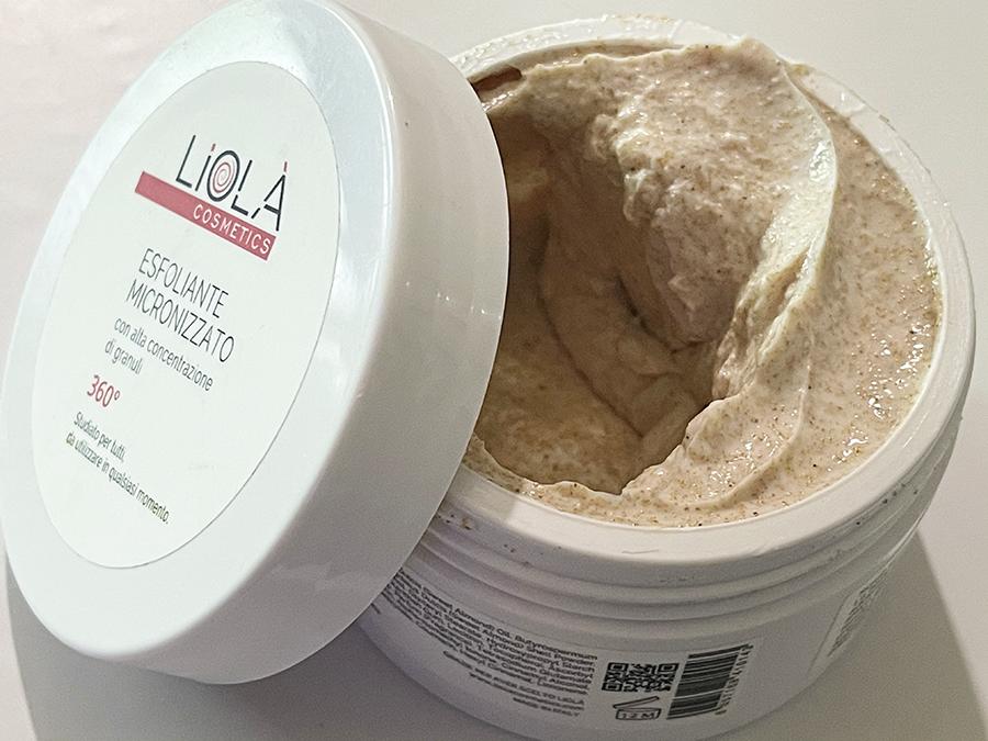 Texture esfoliante micronizzato Liolà Cosmetics