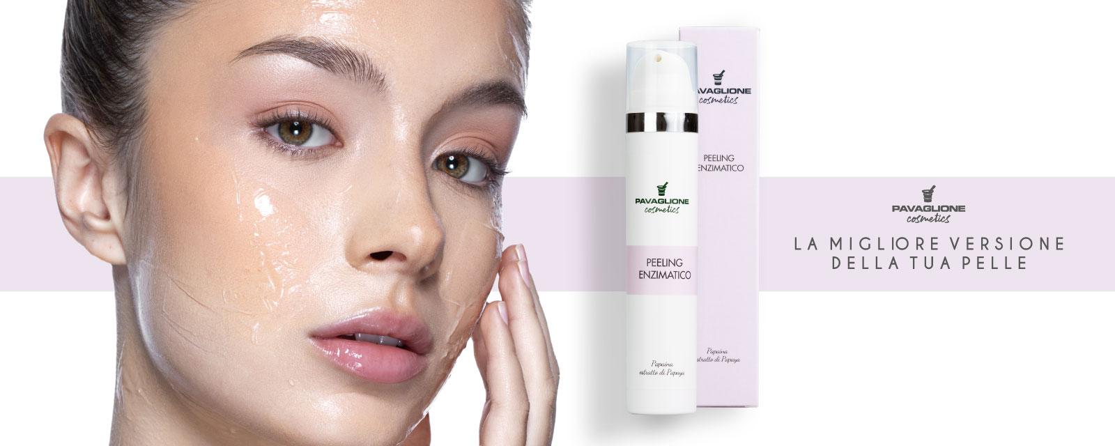 Pavaglione Cosmetics Peeling Enzimatico banner