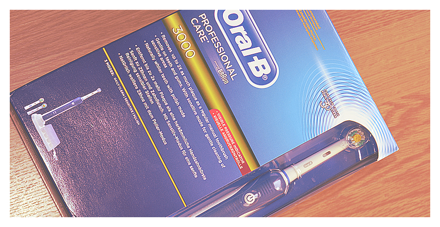 PREVIEW:Professional Care 3000 – OralB